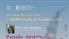 The Shaw Prize Lecture in Mathematical Sciences 2010