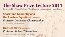 The Shaw Prize Lecture in Mathematical Sciences 2011
