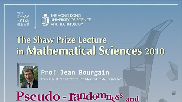 The Shaw Prize Lecture on Mathematical Sciences 2010